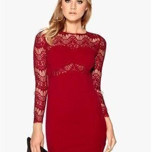 Sally & Circle Nora Dress 874 Wine Red