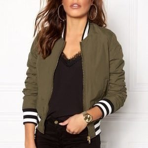 Sally & Circle Zoe Bomber Jacket 325 Vintage Olive
