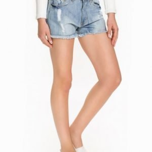 Sally&Circle Price Tessa Denim Shorts Ljus Blå