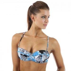 Salming Gabriola Padded Wire Bra Bikiniyläosa Sininen / Värikäs
