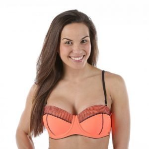 Salming Galiano Padded Wire Bra Bikiniyläosa Oranssi
