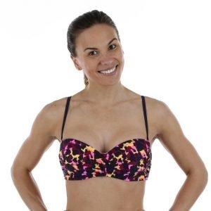 Salming Somerset Wire Bandeau Bra Bikiniyläosa Oranssi / Roosa