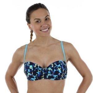 Salming Somerset Wire Bandeau Bra Bikiniyläosa Sininen