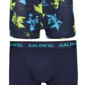 Salming Underwear Greenwood 2-Pack Boxer Bokserit Navy/Green