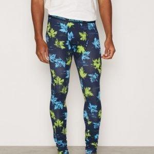 Salming Underwear Greenwood Long John Bokserit Navy/Green