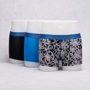 Salming Underwear Sherbourne 3-pack Boxer 702 Black/Blue/Black White