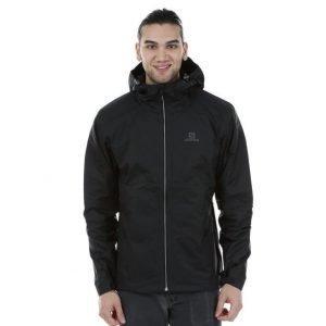 Salomon Crescent Jacket Kuoritakki Musta / Harmaa