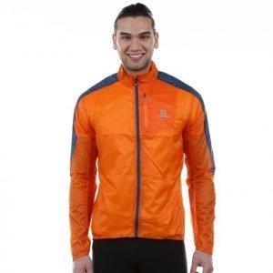 Salomon Fast Wing Jacket Tuulitakki Oranssi