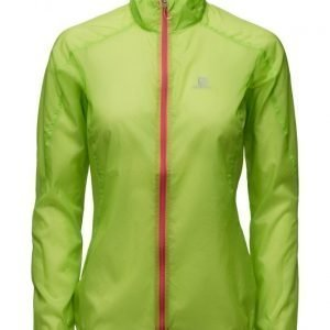 Salomon Fast Wing Jacket W Granny Green tuulitakki