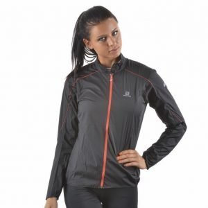 Salomon S-Lab Light Jacket Treenitakki Musta