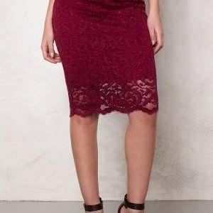 Samsøe & Samsøe Alicia Skirt Beet Red