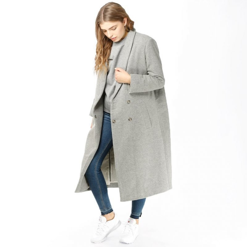 Samsøe Samsøe Polo -pitkä takki