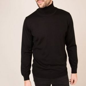 Sand Merino Roll Neck Pooloneule