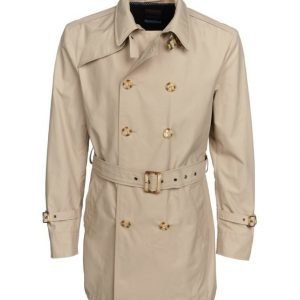 Sand Techno Cotton Trench B Trenssi