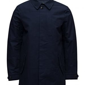 Scotch & Soda Ams Blauw Clean Trench Coat trenssi