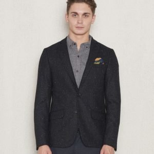 Scotch & Soda Blazer In Neps Combo B