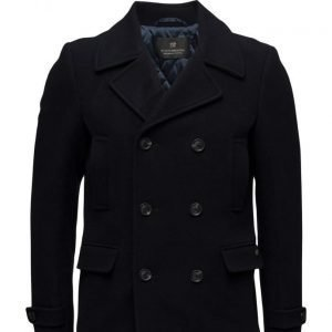 Scotch & Soda Classic Caban Jacket In Wool Quality villakangastakki
