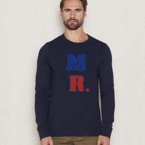 Scotch & Soda Classic Crewneck Sweat 02 Night