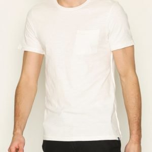 Scotch & Soda Classic Crewneck Tee T-paita White