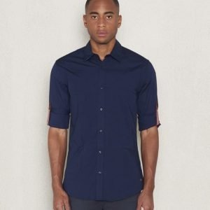 Scotch & Soda Contrast Shirt 02 Night