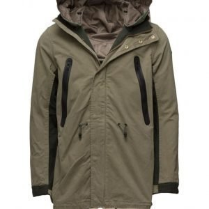 Scotch & Soda Cotton Parka parkatakki