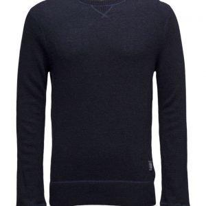 Scotch & Soda Crewneck Pullover In Boiled Wool Quality pyöreäaukkoinen neule