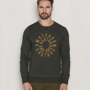 Scotch & Soda Crewneck Sweat 6 G Army Melange