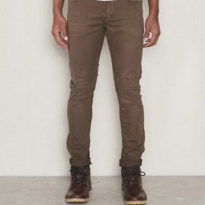 Scotch & Soda Garment Dyed 5 Pocket 60 Military