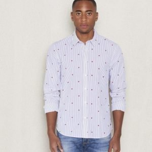 Scotch & Soda Heart Shirt Dessin A All Over Print