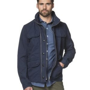 Scotch & Soda Hodded Trench 57 Navy