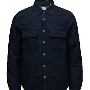Scotch & Soda Home Alone Quilted Indigo Shirt Jacket