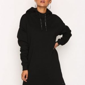 Scotch & Soda Hooded Oversized Sweat Dress Mekko Black