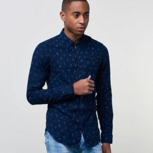 Scotch & Soda Indigo Clean Shirt D Navy