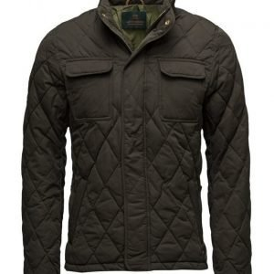 Scotch & Soda Light Padded Quilted Jacket In Peached tikkitakki