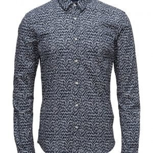 Scotch & Soda Longsleeve Shirt In Cotton/Elastane Quality