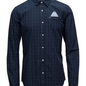 Scotch & Soda Longsleeve Shirt In Crispy Poplin Quality
