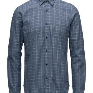 Scotch & Soda Longsleeve Shirt In Grindle Yarn Quality