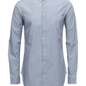Scotch & Soda Longsleeve Shirt In Lightweight Oxford Quality