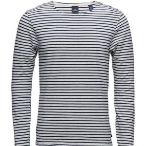 Scotch & Soda Longsleeve Tee In Cotton/Elastane Quality pitkähihainen t-paita