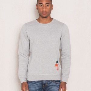 Scotch & Soda Placement Sweat 39 Grey Melange