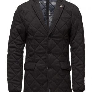 Scotch & Soda Quilted Blazer Jacket In Wool Quality tikkitakki