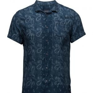 Scotch & Soda Short Sleeve Hawaiian Shirt With Allover Prints lyhythihainen paita