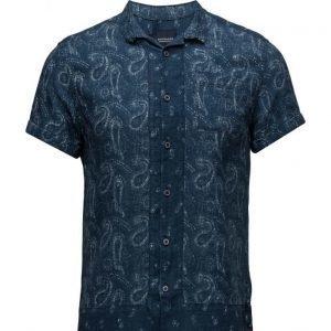 Scotch & Soda Short Sleeve Hawaiian Shirt With Allover Prints lyhythihainen paita