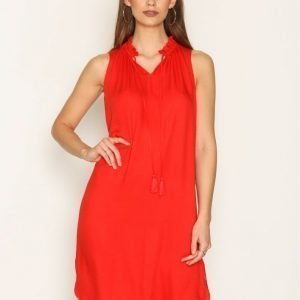 Scotch & Soda Sleeveless Dress Loose Fit Mekko Red