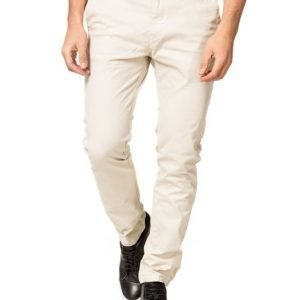 Scotch & Soda Slim Fit 07 Chalk White