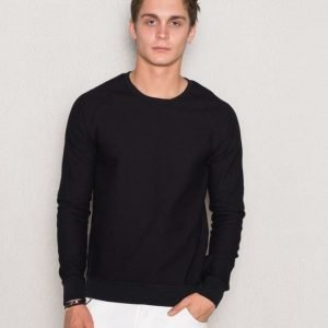 Scotch & Soda Structured Crew Neck 90 Black