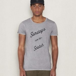 Scotch & Soda Sundays Are For Scotch 0B Greymelange