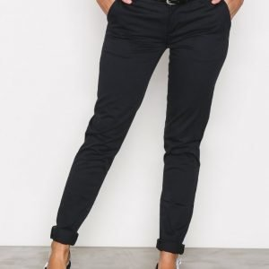 Scotch & Soda Twill Slim Chino Chinot Black
