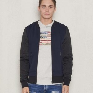 Scotch & Soda Zip Throw Sweat Dessin A