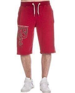 Se Levanta Sweat Shorts Red